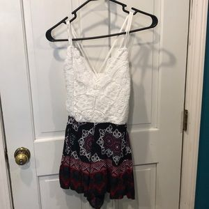Charlotte Russe Romper Size S